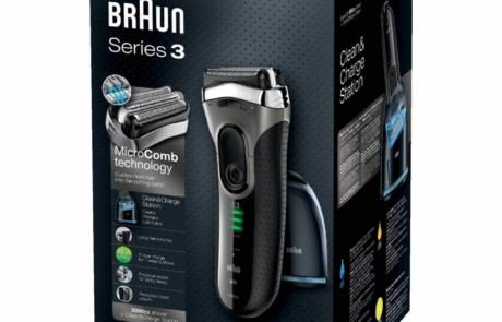 Braun Series 3 3090cc Verpackung
